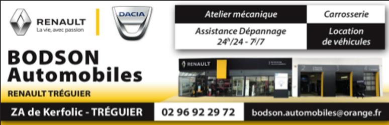Garage Bodson  Renault Dacia Tréguier